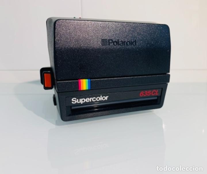 Cámara de fotos: Polaroid Supercolor 635CL. Años 80. Impecable. - Foto 12 - 256059825