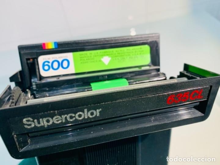 Cámara de fotos: Polaroid Supercolor 635CL. Años 80. Impecable. - Foto 15 - 256059825