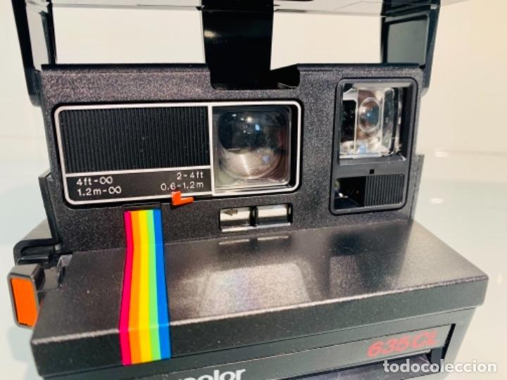 Cámara de fotos: Polaroid Supercolor 635CL. Años 80. Impecable. - Foto 17 - 256059825
