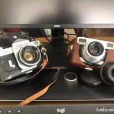 Cámara de fotos: YASHICA J-3 (REFLEX AUTOFOCUS) Y WERRA PRESTOR (NO REFLEX). Lote 257776245