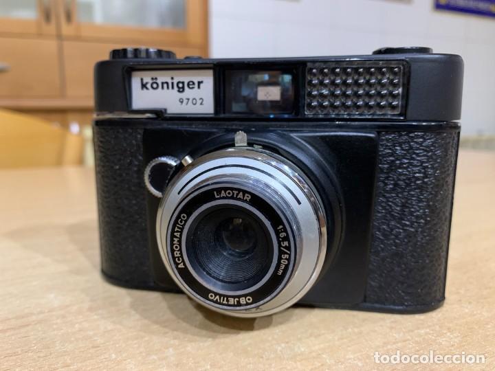 Cámara de fotos: KONIGER MODELO B DE LA SERIE WERLISA FABRICADA EN ESPAÑA EN 1968 - Foto 5 - 260737945