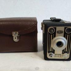 Cámara de fotos: CAJA METÁLICA BILORA STHAL BOX.AÑO 1952.FUNCIONA. Lote 262042505