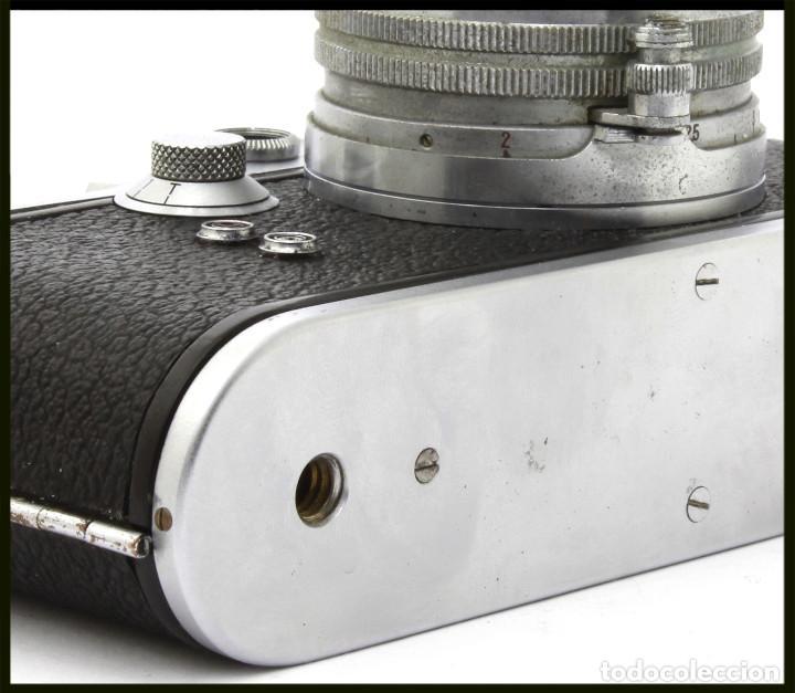 Cámara de fotos: Tanack IV-S. Tanar 50 mm. Japonesa Telemétrica, Copia Leica - Foto 3 - 262137480