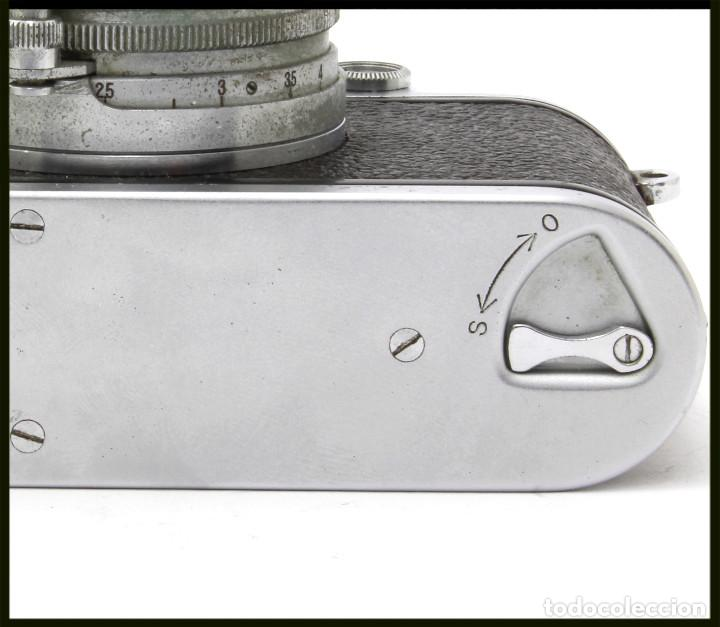 Cámara de fotos: Tanack IV-S. Tanar 50 mm. Japonesa Telemétrica, Copia Leica - Foto 4 - 262137480