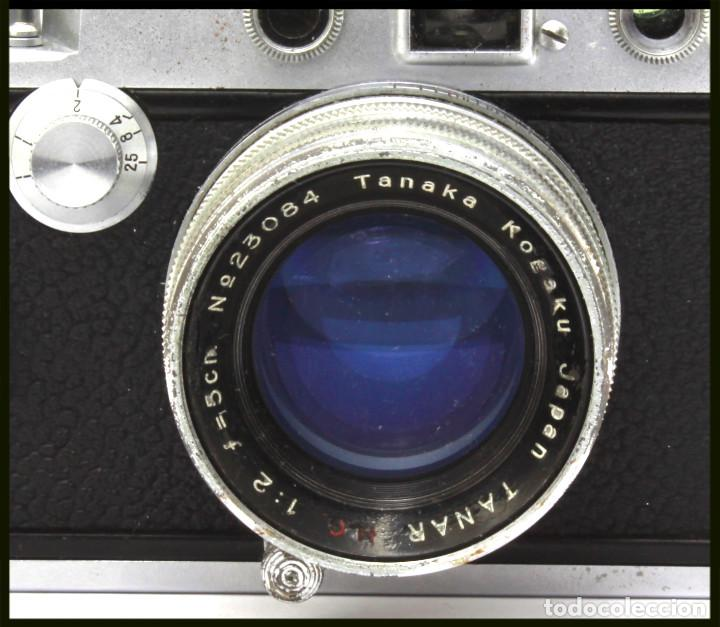 Cámara de fotos: Tanack IV-S. Tanar 50 mm. Japonesa Telemétrica, Copia Leica - Foto 5 - 262137480