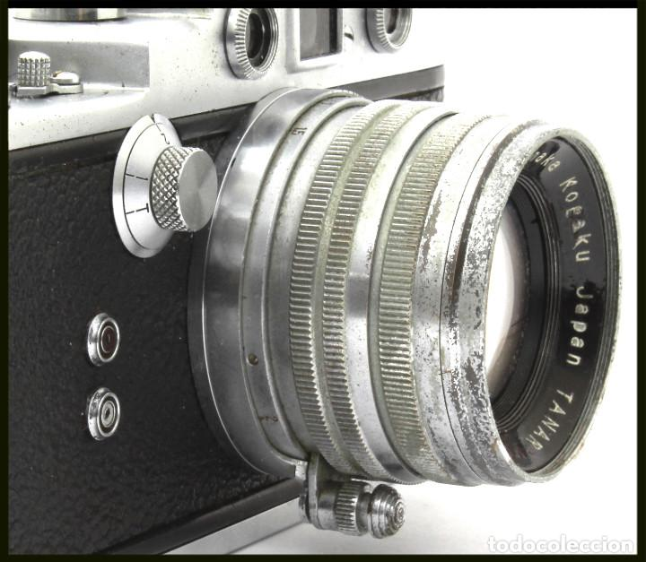 Cámara de fotos: Tanack IV-S. Tanar 50 mm. Japonesa Telemétrica, Copia Leica - Foto 6 - 262137480