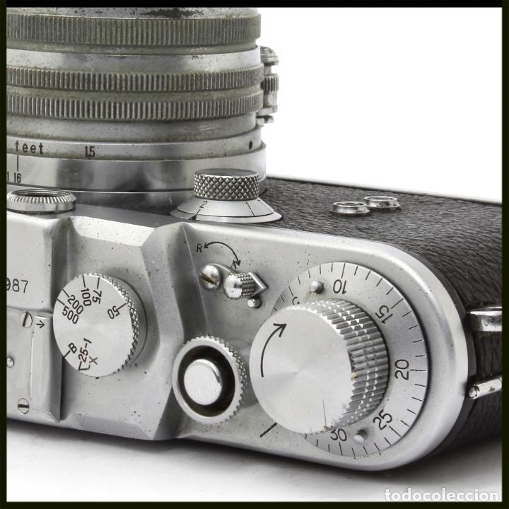 Cámara de fotos: Tanack IV-S. Tanar 50 mm. Japonesa Telemétrica, Copia Leica - Foto 7 - 262137480