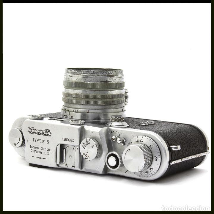 Cámara de fotos: Tanack IV-S. Tanar 50 mm. Japonesa Telemétrica, Copia Leica - Foto 8 - 262137480
