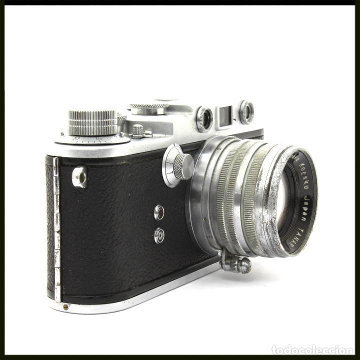 Cámara de fotos: Tanack IV-S. Tanar 50 mm. Japonesa Telemétrica, Copia Leica - Foto 12 - 262137480