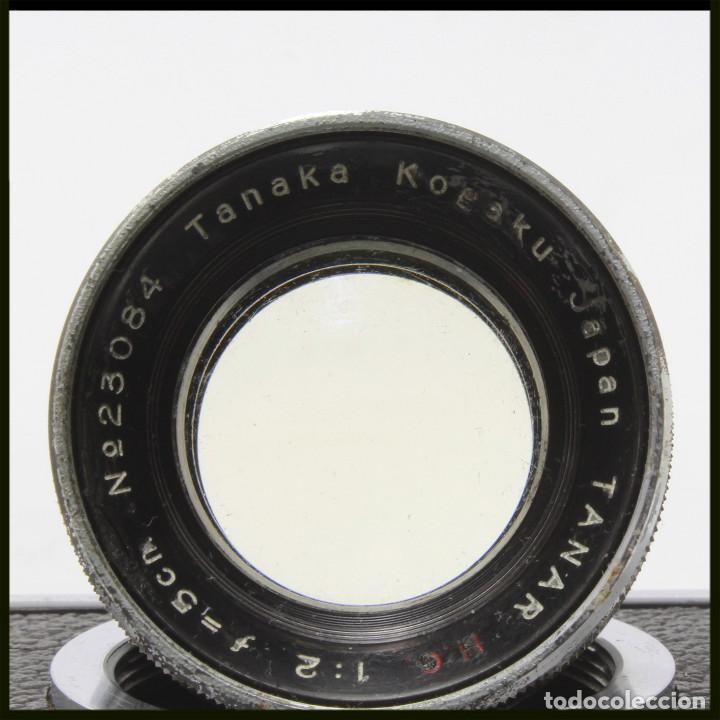 Cámara de fotos: Tanack IV-S. Tanar 50 mm. Japonesa Telemétrica, Copia Leica - Foto 21 - 262137480