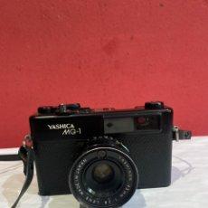 Cámara de fotos: CAMARA DE FOTOS ANTIGUA YASHICA MG 1. Lote 262570565