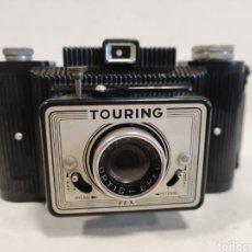 Cámara de fotos: BAQUELITA.TOURING-FEX.AÑO 1956.FUNCIONA. Lote 263093355