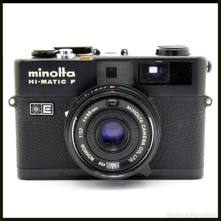 MINOLTA HI-MATIC F. TELEMETRICA JAPONESA (Cámaras Fotográficas - Clásicas (no réflex))