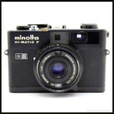Appareil photos: MINOLTA HI-MATIC F. TELEMETRICA JAPONESA. Lote 263181855