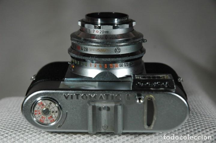 Cámara de fotos: CÁMARA DE 35 MM.VOIGTLÄNDER VITOMATIC I EN FUNCIONAMIENTO - Foto 6 - 263538450