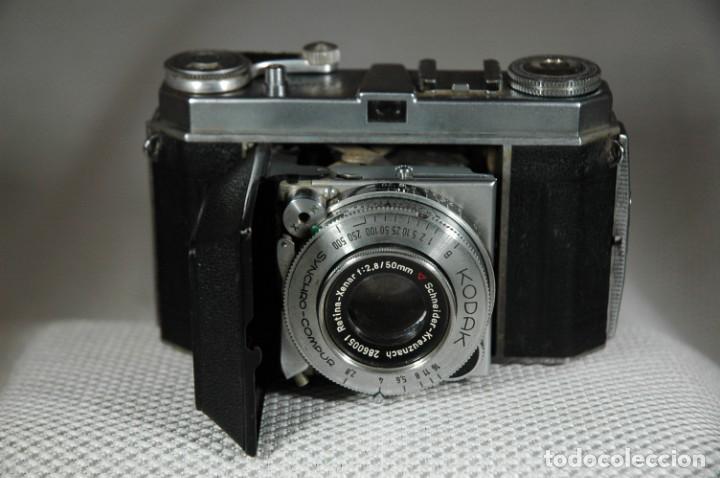 Cámara de fotos: CAMARA DE 35 MM. KODAK RETINA IA Tipo 015 CON ESTUCHE - Foto 3 - 263555030