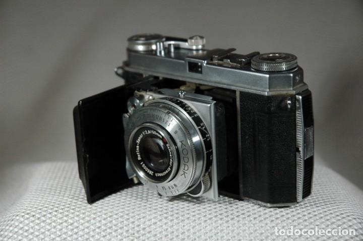 Cámara de fotos: CAMARA DE 35 MM. KODAK RETINA IA Tipo 015 CON ESTUCHE - Foto 4 - 263555030
