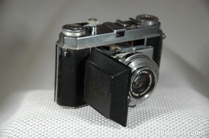 Cámara de fotos: CAMARA DE 35 MM. KODAK RETINA IA Tipo 015 CON ESTUCHE - Foto 5 - 263555030