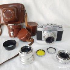 Cámara de fotos: EQUIPO AGFA AMBI SILETTE TELEMÉTRICA. 1956.. Lote 264467114