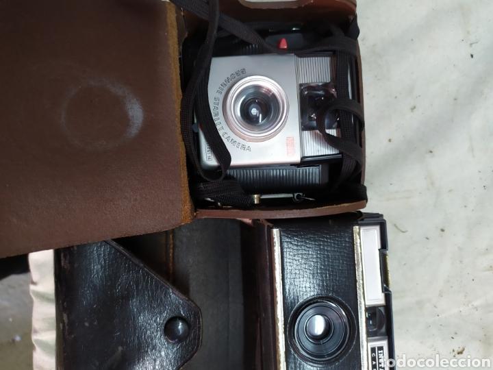 2 APARATOS ANTIGUOS DE FOTOS (Cámaras Fotográficas - Clásicas (no réflex))
