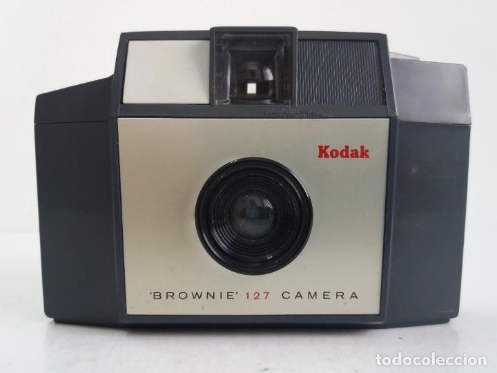 Cámara de fotos: DELICIOSA KODAK BROWNIE 127 AÑOS 60´S MUY VINTAGE - Foto 3 - 267848774