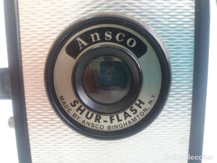 Cámara de fotos: ANTIGUA VINTAJE CAMARA CAJON ANSCO (AGFA) AÑOS 50´S CON UN TOQUE DECÓ - Foto 13 - 268100919
