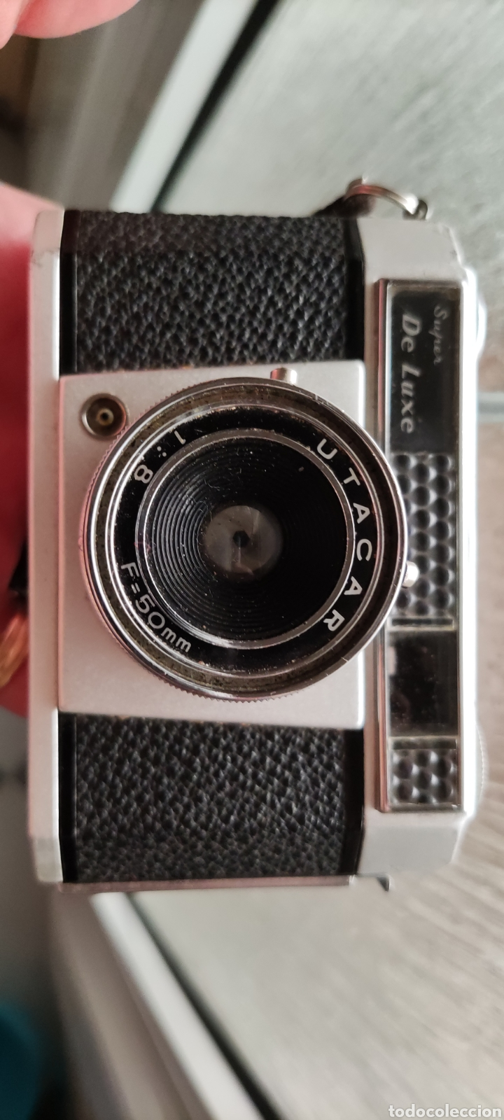Cámara de fotos: Antigua cámara fotográfica Anny 35 utacar 50mm - Foto 12 - 268461789