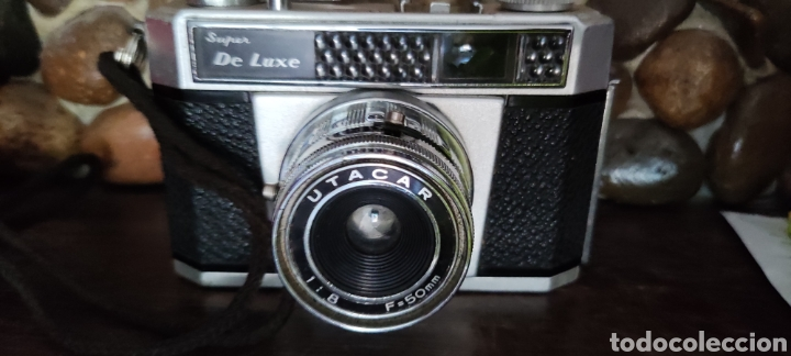 ANTIGUA CÁMARA FOTOGRÁFICA ANNY 35 UTACAR 50MM (Cámaras Fotográficas - Clásicas (no réflex))