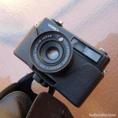 Cámara de fotos: YASHICA MG-1 NEGRA.CON FUNDA.. Lote 268869419