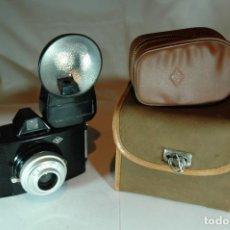 Cámara de fotos: CAMARA AGFA CLIK I CON FLASH AGFA Y ESTUCHE. Lote 270002908