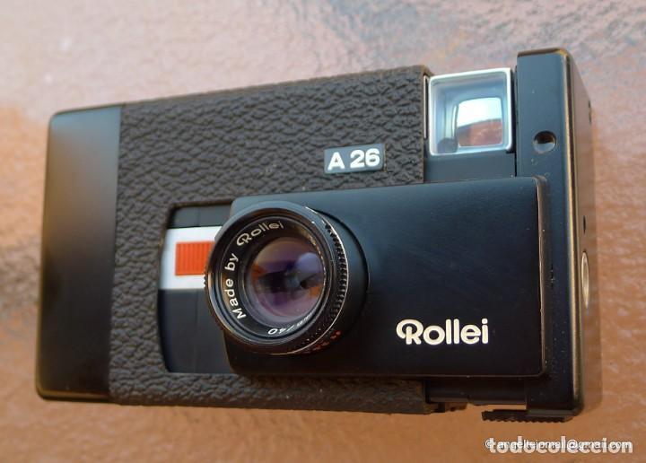ROLLEIFLEX A 26 EN PERFECTÍSIMO ESTADO (Cámaras Fotográficas - Clásicas (no réflex))