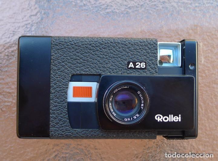 Cámara de fotos: Rolleiflex A 26 en perfectísimo estado - Foto 3 - 270630648