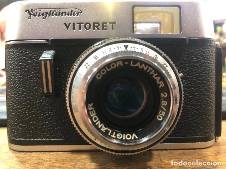 Cámara de fotos: ANTIGUA CAMARA DE FOTOS VITORET AÑOS 70 - FUNCIONANDO - Foto 2 - 270631438