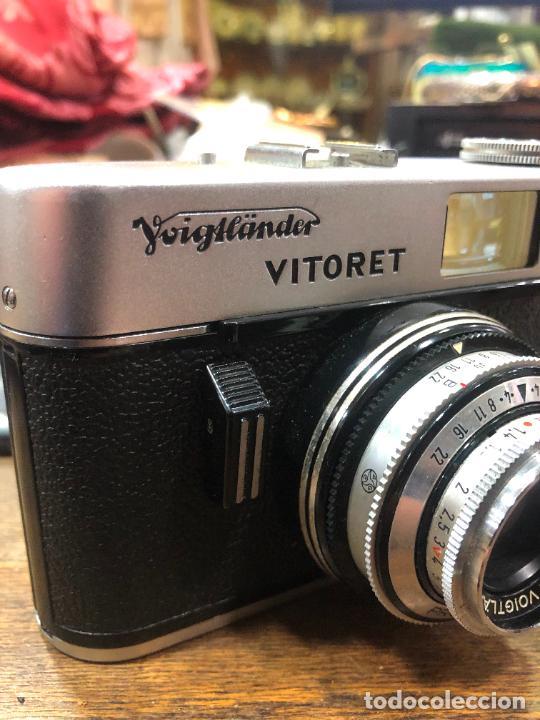 Cámara de fotos: ANTIGUA CAMARA DE FOTOS VITORET AÑOS 70 - FUNCIONANDO - Foto 5 - 270631438