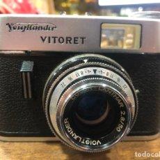 Cámara de fotos: ANTIGUA CAMARA DE FOTOS VITORET AÑOS 70 - FUNCIONANDO. Lote 270631438