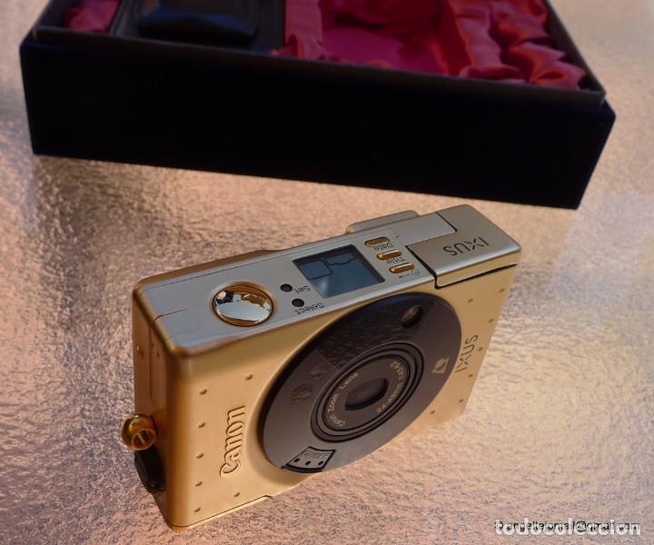 Cámara de fotos: Canon IXUS Gold Ltd Ed Anniversary 35mm APS camera with 24-48mm - Foto 2 - 270873493