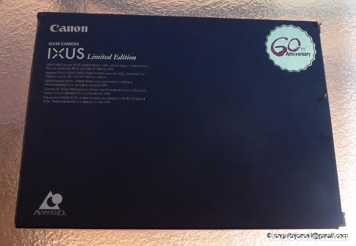 Cámara de fotos: Canon IXUS Gold Ltd Ed Anniversary 35mm APS camera with 24-48mm - Foto 5 - 270873493