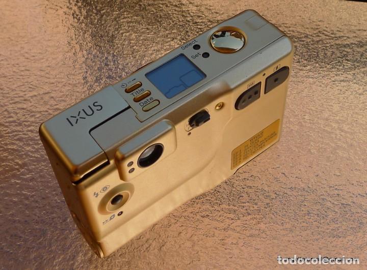 Cámara de fotos: Canon IXUS Gold Ltd Ed Anniversary 35mm APS camera with 24-48mm - Foto 7 - 270873493
