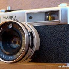Cámara de fotos: YASHICA MG1.TELEMÉTRICA.FUNCIOANANDO.TESTEADA. Lote 273958863