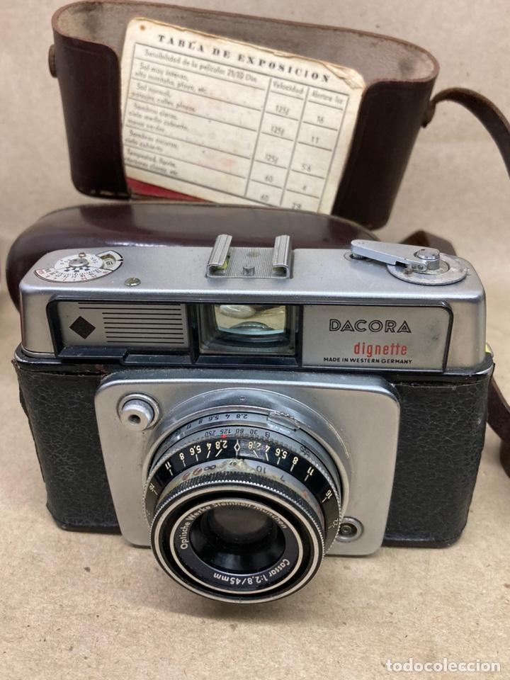 Cámara de fotos: Cámara de fotos Dacora en su funda de piel - Foto 2 - 276944338