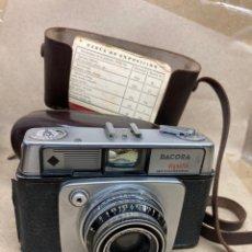 Cámara de fotos: CÁMARA DE FOTOS DACORA EN SU FUNDA DE PIEL. Lote 276944338