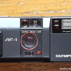 Cámara de fotos: CAMARA OLYMPUS AF-1, OBJETIVO 35 .FLASH INCORPORADO.. Lote 276978908