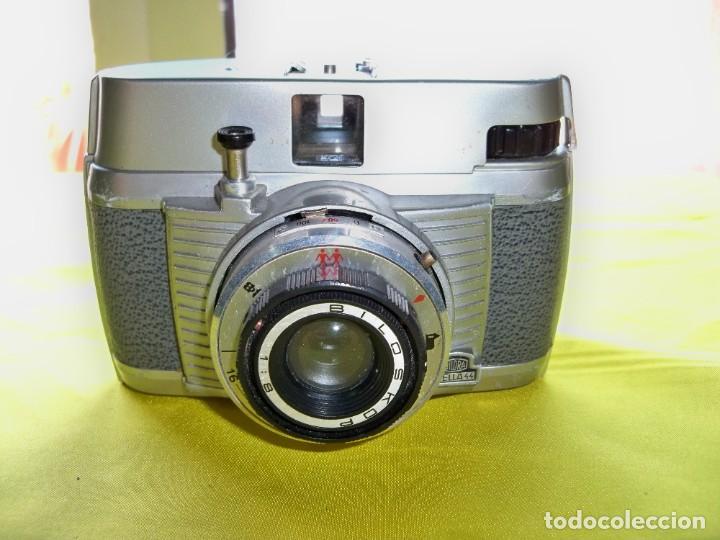 Cámara de fotos: Antigua cámara de fotos BILORA BELLA 44 made in Germany - Foto 3 - 279411283
