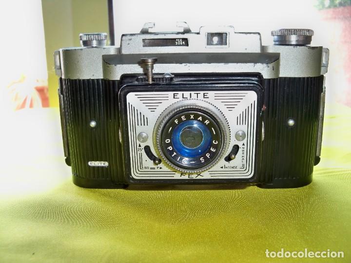 ANTIGUA CÁMARA DE FOTOS ELITE FEX MADE IN FRANCE (Cámaras Fotográficas - Clásicas (no réflex))