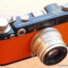 Cámara de fotos: MOON ROVER LUNOKHOD-1 FED 2 (ФЕД) USSR RUSSIAN 35MM RF CAMERA COPY LEICA-II(D). Lote 283765573