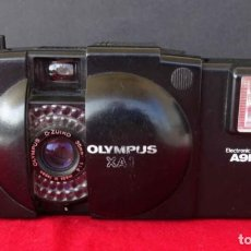 Cámara de fotos: CÁMARA OLYMPUS XA-1 CON FLASH A9M. Lote 283874183
