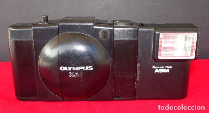 Cámara de fotos: Cámara OLYMPUS XA-1 con flash A9M - Foto 2 - 283874183