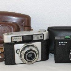 Cámara de fotos: CÁMARA WERLISA II Y WERLISA CLUB COLOR. Lote 284239088
