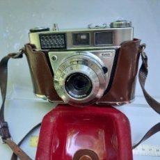 Cámara de fotos: CAMARA KODAK VINTAGE , RETINETTE I B + FUNDA Y COMPLEMENTOS. Lote 284529268