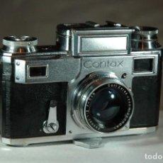 Cámara de fotos: CAMARA DE 35 MM. CONTAX IIIA EN FUNCIONAMIENTO. Lote 284789758